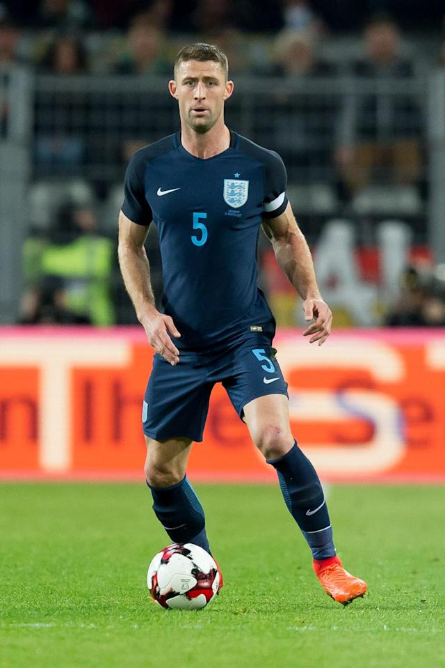 <p>Gary Cahill<br> Age 32<br> Caps 58<br> Goals 4<br>England's most experienced outfield player, occasional captain and a serial trophy winner at Chelsea. He was made to sweat over his place after being cut from the last squad but made the cut.<br>Key stat: His seven appearances at major international tournaments are the most of anyone in Southgate's squad. </p>