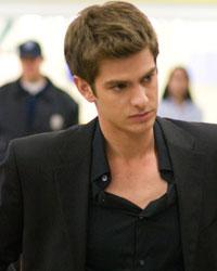 Andrew Garfield as Eduardo Saverin Columbia Pictures