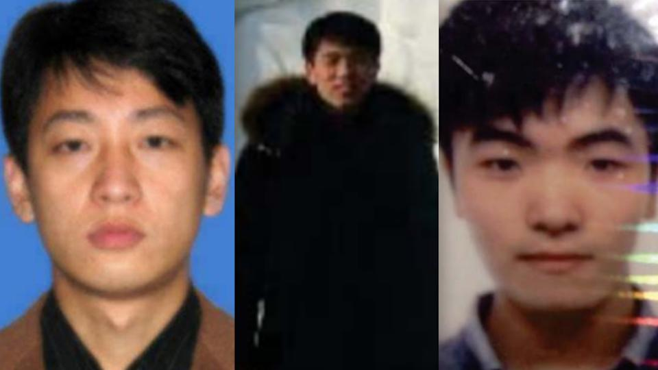 Park Jin Hyok, Jon Chang Hyok and Kim Il. (FBI)