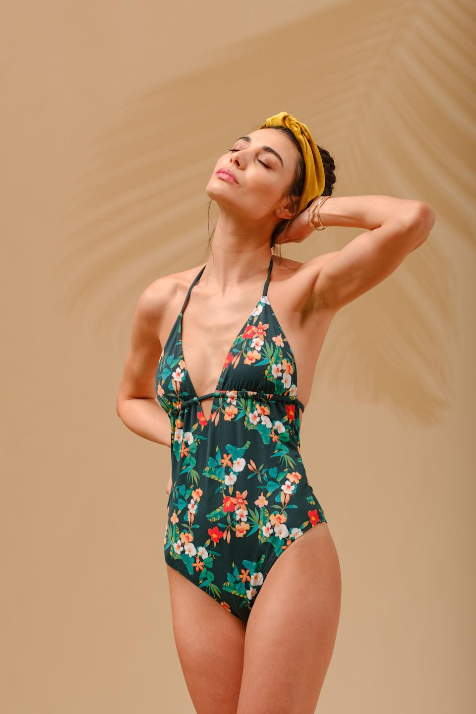 Lively Adjustable One-Piece Garden Print (Photo: Lively)