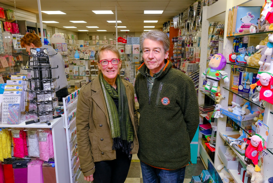 Alasdair and Lydia Walker-Cox have run the shop for 30 years and say they are prepared to risk going to jail. (SWNS)