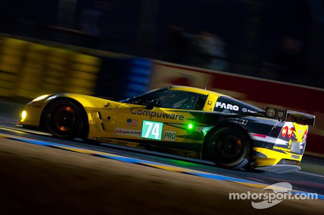 "2011: #74 Corvette Racing Chevrolet Corvette C6 ZR1: Oliver Gavin, Jan Magnussen, Richard Westbrook <span class=""copyright"">Eric Gilbert</span>"