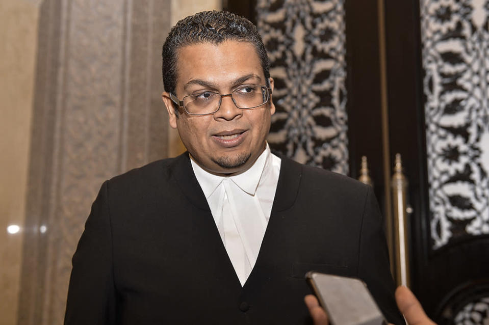 Lawyer Nizam Bashir said the Yang di-Pertuan Agong would ordinarily appoint a prime minister who 'in his judgment is likely to command the confidence of the majority of the members' of the Dewan Rakyat. — Picture by Miera Zulyana
