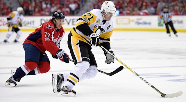 <p>The Penguins signed Evgeni Malkin to an eight-year, $76M deal in 2013. (Nick Wass/AP) </p>