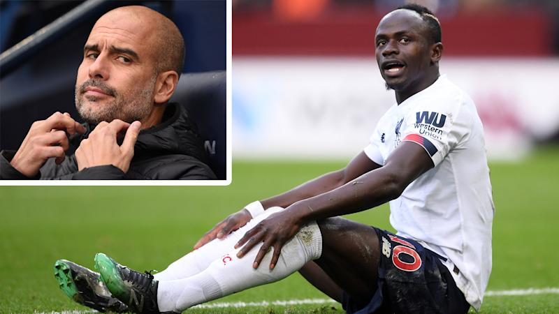 'I don't pay attention to what Guardiola says' - Mane laughs off Man City manager's 'dive' accusation