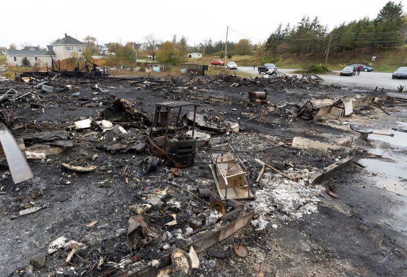 Lobster facility fire in Nova Scotia 'suspicious,' Canadian minister says