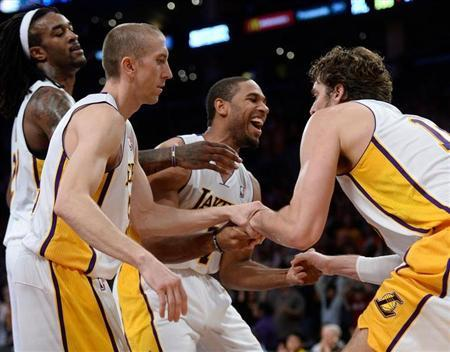 NBA: Atlanta Hawks at Los Angeles Lakers