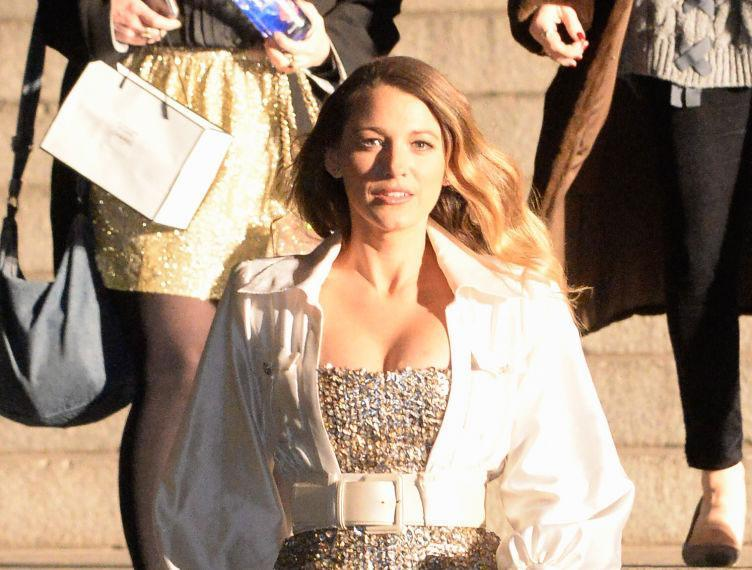 Blake Lively is seen outside the Chanel Metiers d'Art fashion show on Dec. 4, 2018, in New York City. (Photo: Raymond Hall/GC Images)
