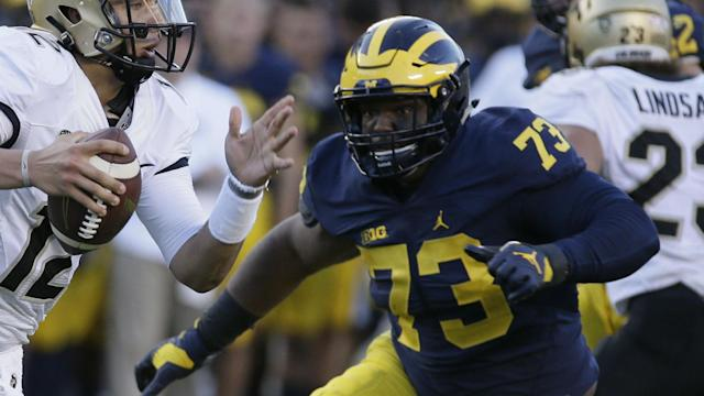 Michigan standout Maurice Hurst Jr. fell way too far down the draft board, and Jon Gruden and the Raiders should benefit.