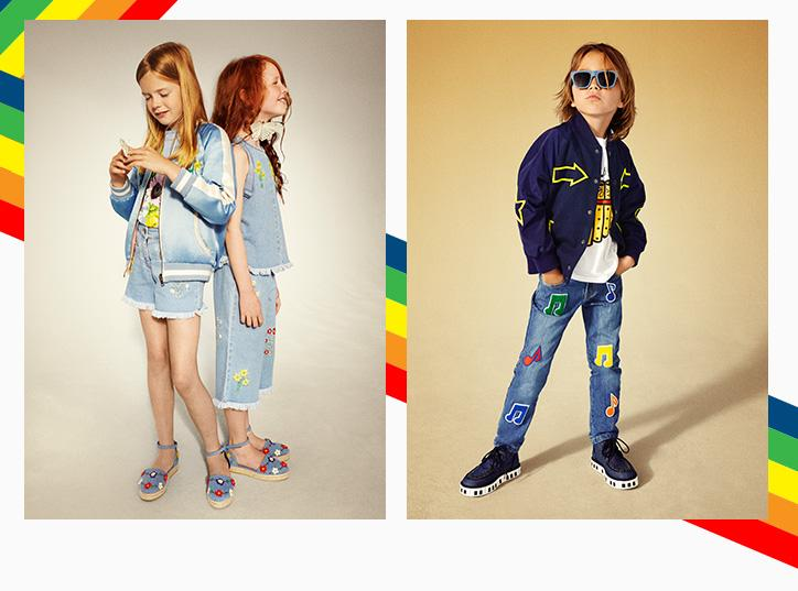 <div>Stella McCartney's childrenswear line is well-known on the fashion circuit. Loved by celebrity mums, the collection boasts comfy dungarees, lots of floral prints and a fun crocodile character for the boys. The range fits up to the age of 14 with prices starting at £30.<br /><i>[Photo: Stella McCartney]</i> </div>