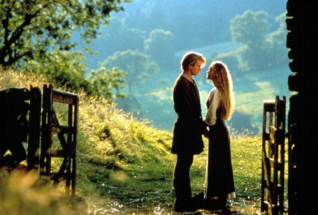 """<a href=""""http://movies.yahoo.com/movie/1800108021/info"""">The Princess Bride</a> (1987): A screwball fairy tale with an excellent cast, clever details and great energy and heart. And it's easily one of the best films Rob Reiner's directed -- up there with """"This is Spinal Tap."""" Peter Falk reads his grandson (a young Fred Savage) a story about princes, swordfights, pirates, rats and, ultimately, true love. The beautiful Buttercup (Robin Wright) is about to marry Prince Humperdinck (Chris Sarandon), whom she doesn't love. Her heart still belongs to Westley (Cary Elwes), whom she thinks is dead. But on the eve of her wedding, guess who kidnaps her? Billy Crystal, Carol Kane, Andre the Giant, Mandy Patinkin and Wallace Shawn all get classic lines, but Peter Cook as a clergyman with a speech impediment says the word """"marriage"""" in a way that still cracks me up all these years later."""