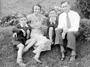 "Early Days""I had a happy childhood,"" says Hefner (left, with mother Grace, younger brother Keith and father Glenn in 1934). At just 27, he fulfilled a lifelong dream of launching his own men's magazine. Playboy's inaugural issue featured never-before-seen nude photos of Marilyn Monroe; the magazine was an instant success. Three marriages, four children and many younger girlfriends would follow, but Hefner never strayed from a commitment to the iconic brand he started. The magazine stopped running nude photos last month; still, Hefner insists, "" Playboy is a fantasy life for a lot of people. Including me."""