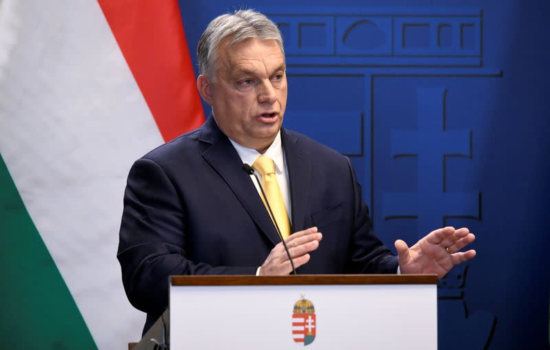 Hungary PM says European conservatives losing influence, flags new party grouping
