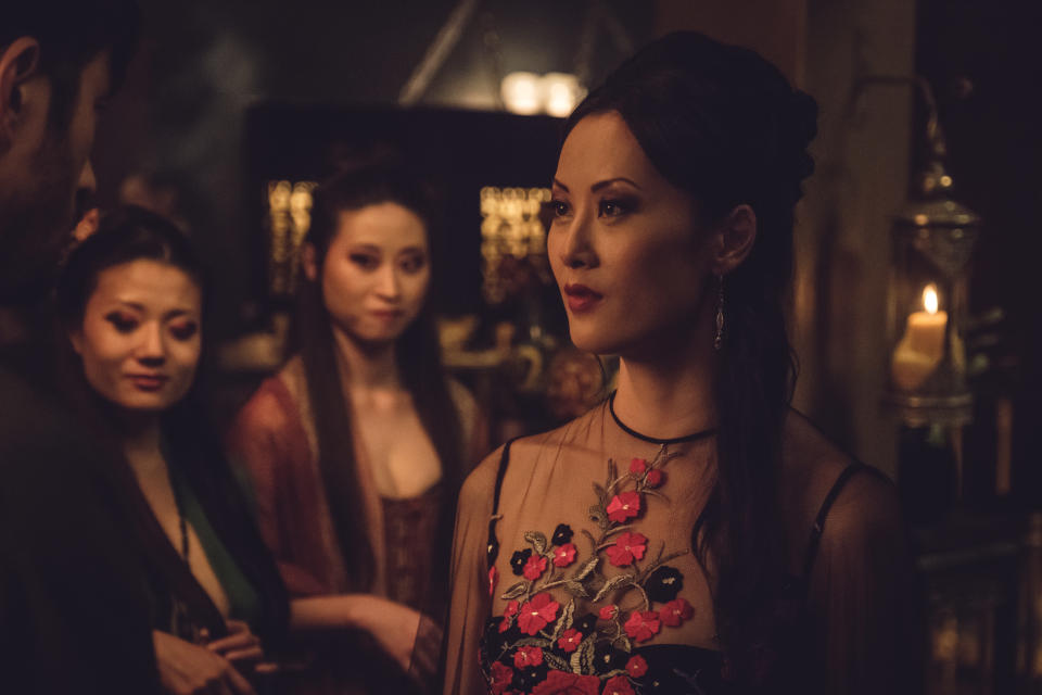 """Olivia Cheng as """"Ah Toy"""" in """"Warrior"""". (PHOTO: David Bloomer/HBO)"""