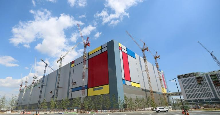 Samsung Electronics' new semiconductor plant in Pyeongtaek, 70 km south of Seoul