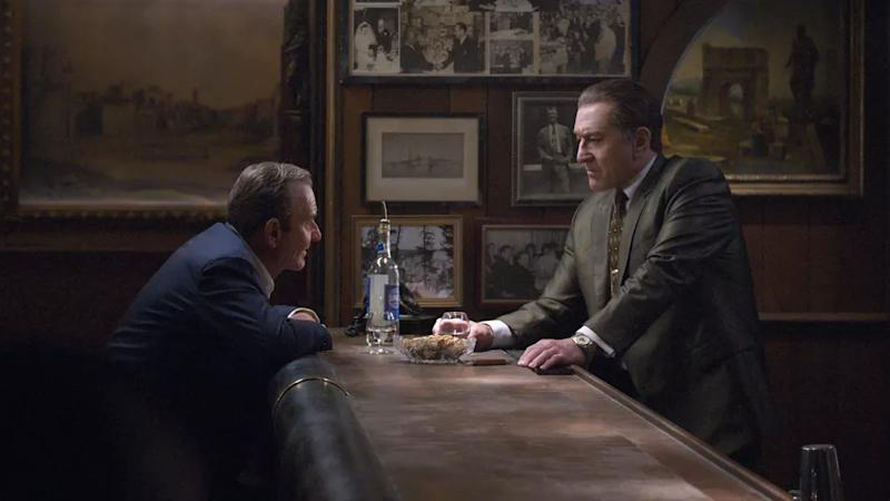 Joe Pesci and Robert De Niro star in gangster drama 'The Irishman'.