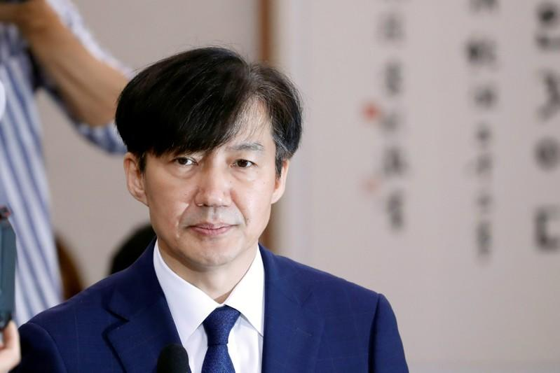 Wife of South Korea's former justice minister arrested in corruption scandal