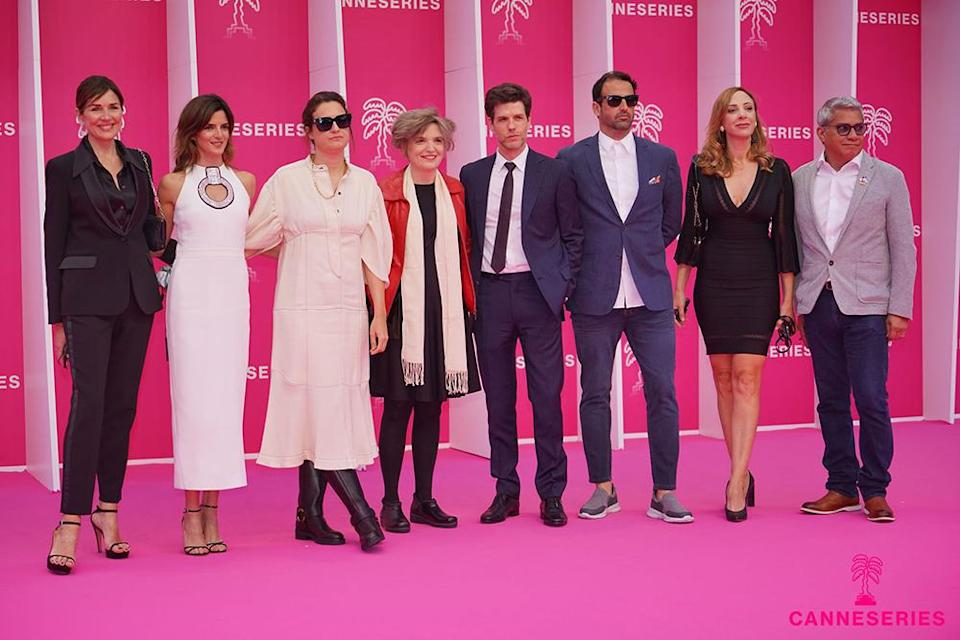 Opening Ceremony – Ceremonie d'ouverture assists the Pink Carpet during the 4th annual Canneseries at Palais des Festivals on October 8, 2021 in Cannes, France. Olivier VIGERIE / Canneseries 2021 - Credit: Olivier Vigerie