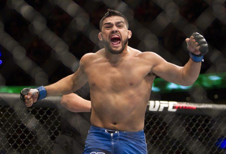 Kelvin Gastelum, 25, has already beaten an impressive list of opponents. (AP)