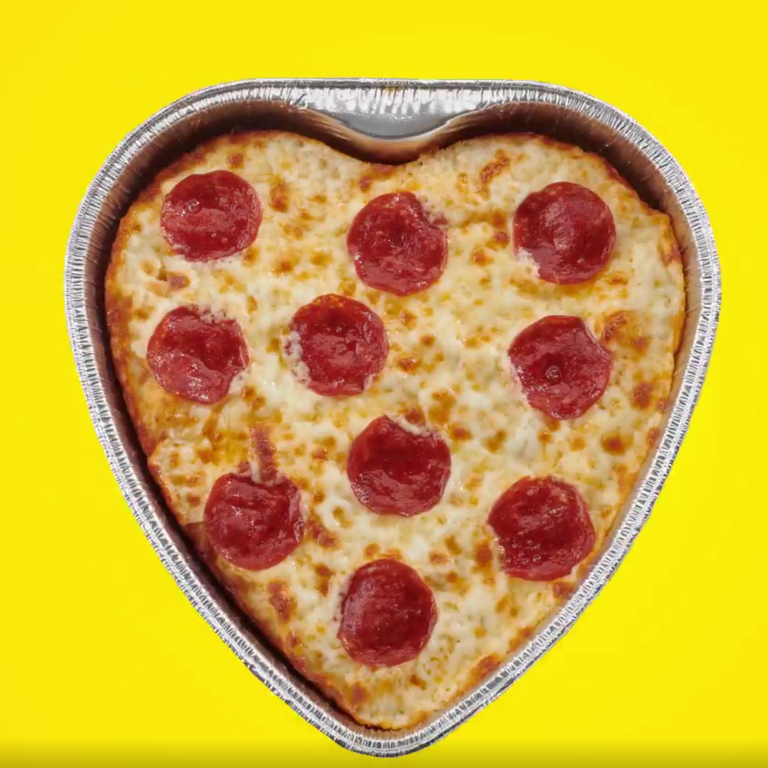 "<p><a href=""https://www.hungryhowies.com/"" rel=""nofollow noopener"" target=""_blank"" data-ylk=""slk:Hungry Howie's"" class=""link rapid-noclick-resp"">Hungry Howie's</a> is offering heart-shaped pizzas this year (February 13-14) for just $6.99 for a one-topping. </p>"