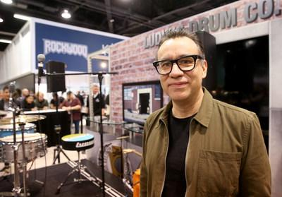 Fred Armisen at The 2019 NAMM Show. Credit: Getty Images for NAMM.