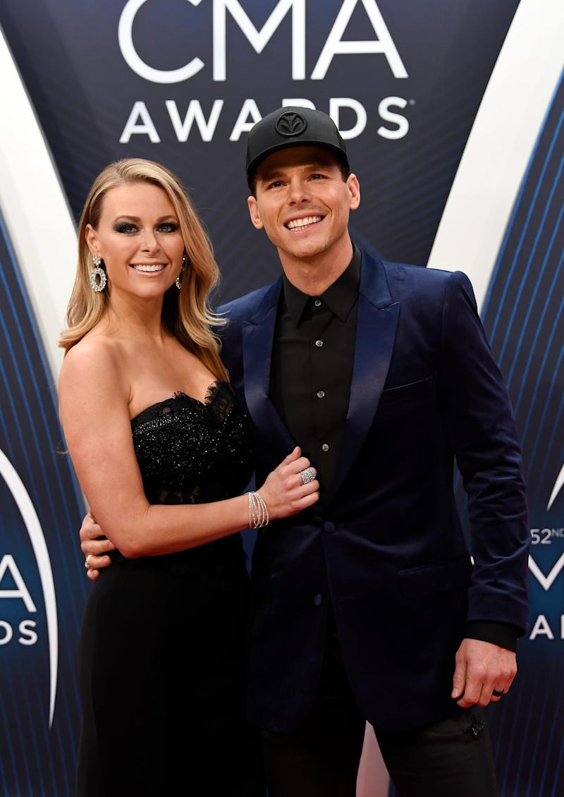 Granger Smith and wife Amber Bartlett