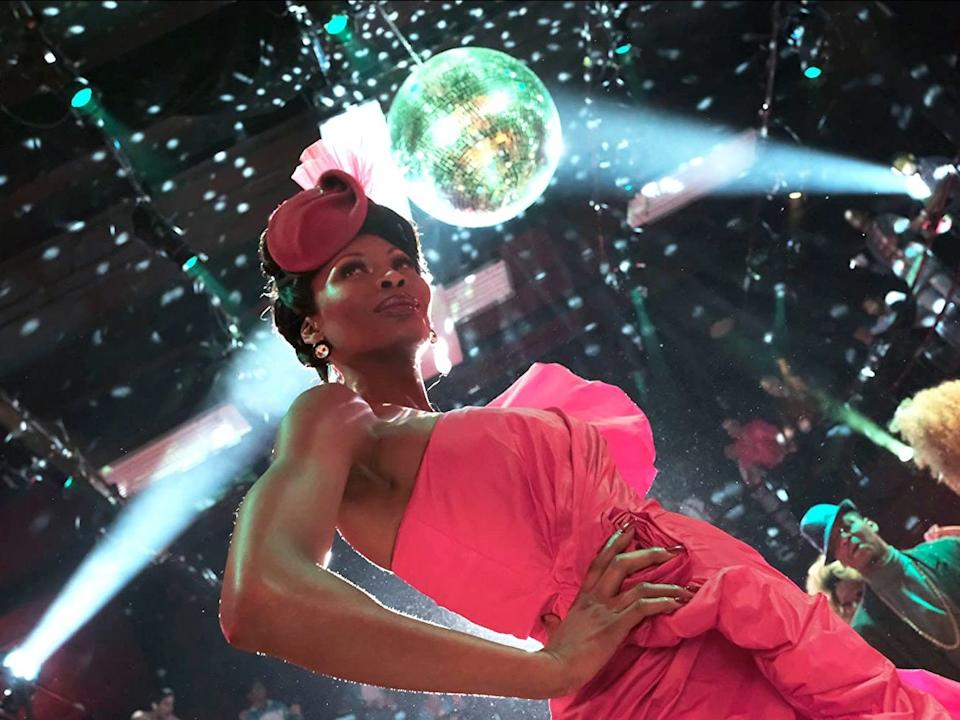 "Dominique Jackson plays a ballroom competitor on ""Pose."""