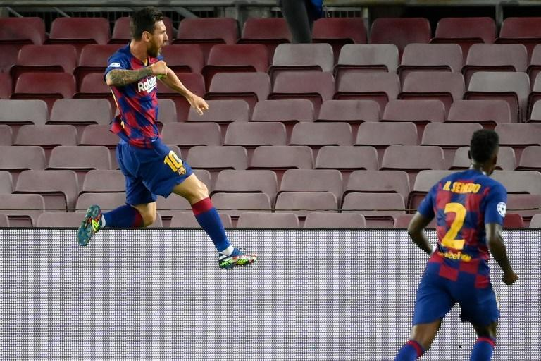 Messi inspires win over Napoli but Barca will need more against Bayern