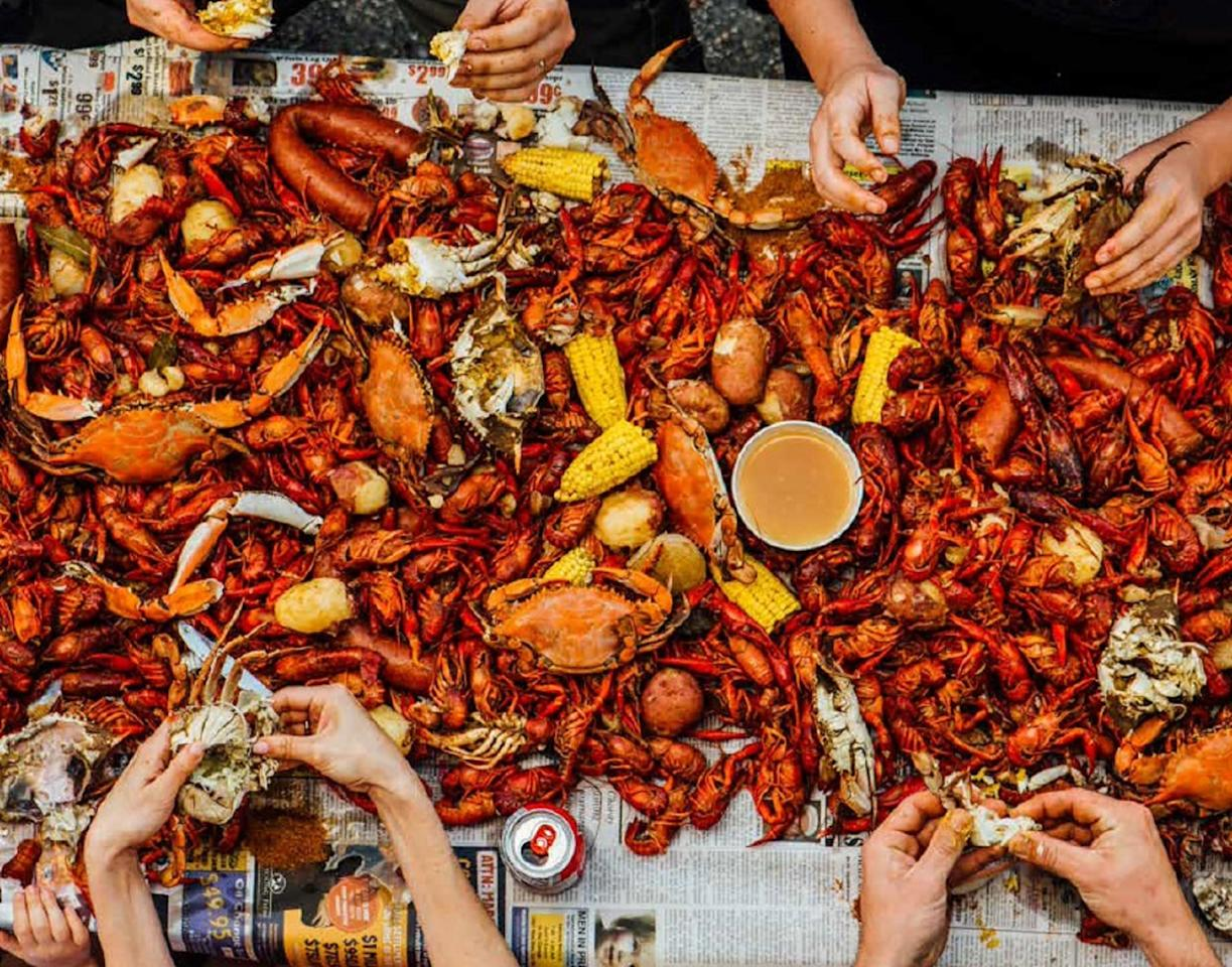 "<p>You haven't had the true New Orleans experience until you've sat down with your friends, cracked open a <a href=""https://www.thedailymeal.com/drink/101-best-beers-america-gallery?referrer=yahoo&category=beauty_food&include_utm=1&utm_medium=referral&utm_source=yahoo&utm_campaign=feed"">beer</a> and stuffed your face with crawfish. The Southern tradition calls for you to toss some boiled crawfish on the table — on top of newspaper or a table cloth — along with cooked potatoes, corn, garlic, andouille sausages and more. </p> <p><a href=""https://www.thedailymeal.com/best-recipes/cajun-crawfish-creole-new-orleans?referrer=yahoo&category=beauty_food&include_utm=1&utm_medium=referral&utm_source=yahoo&utm_campaign=feed"">For the Crawfish Boil recipe, click here.</a></p>"