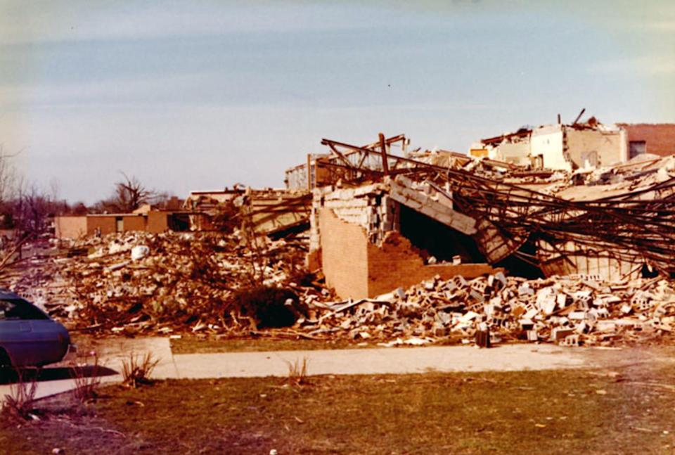 Nixon called the damage from this tornado the worst devastation he'd ever seen