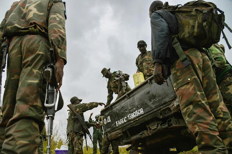 A military operation was deployed to put an end to the Christmas Day killing spree (AFP Photo/Junior D. Kannah)
