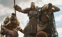 <p><span><strong>Played by:</strong> Winston Duke</span><br><strong>Last appearance: </strong><i><span>Black Panther</span></i><br><span><strong>What's he up to?</strong> The Jabari tribe leader proved to be a useful ally to Black Panther after he rescued the fallen T'Challa and came to the aid of the Golden tribe and the Dora Milaje during the final battle of Mount Bashenga. </span> </p>