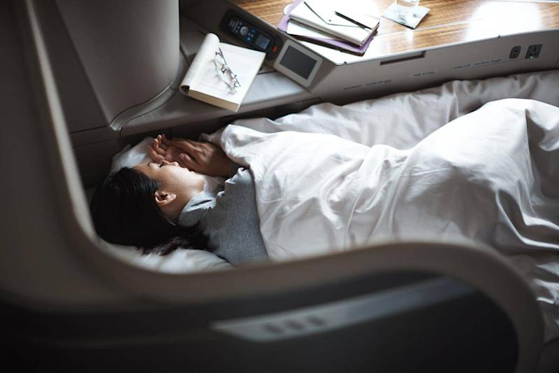 The airline has a range of services to help you relax (Cathay Pacific)