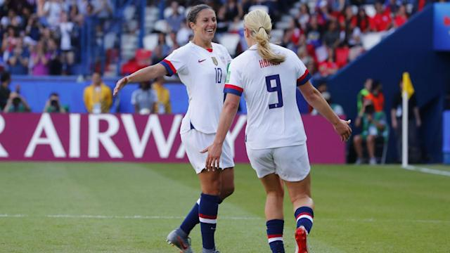 USWNT begins the knockout stage of the World Cup against Spain Monday.