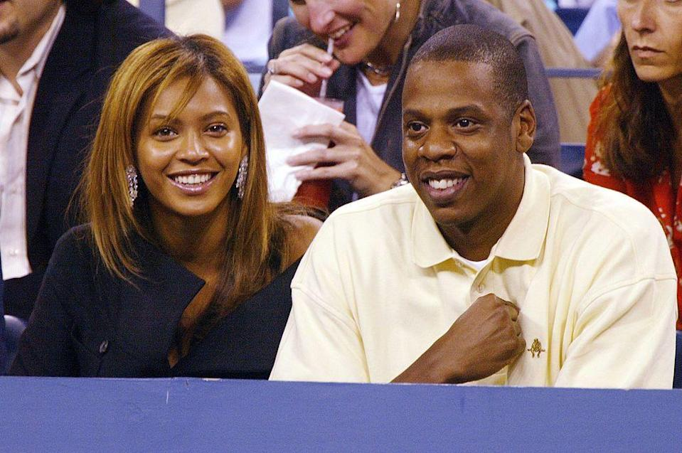 <p>They switched things up and moved from basketball to tennis later in 2003 by heading to the US Open. </p>