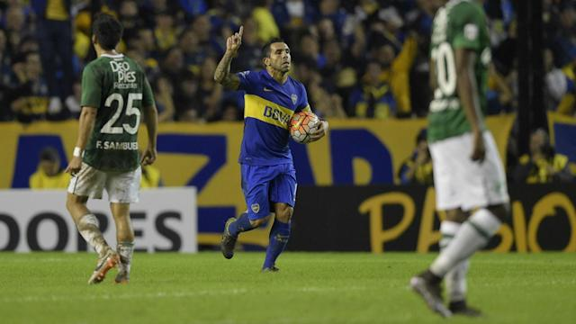 Boca Juniors advanced to the last 16 as group winners, while Corinthians hit Cobresal for six.