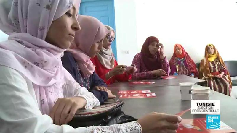 Tunisia elections: 'We want women to be a priority, not just a card to play' (2/4)
