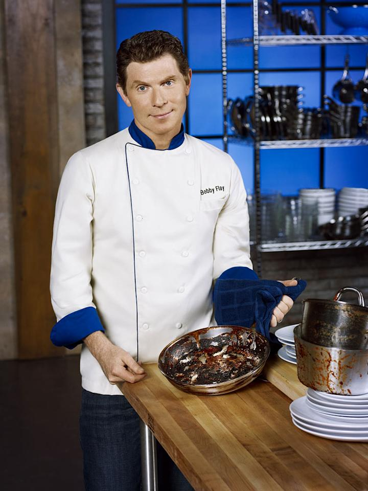 "Host Bobby Flay on ""Worst Cooks in America."""
