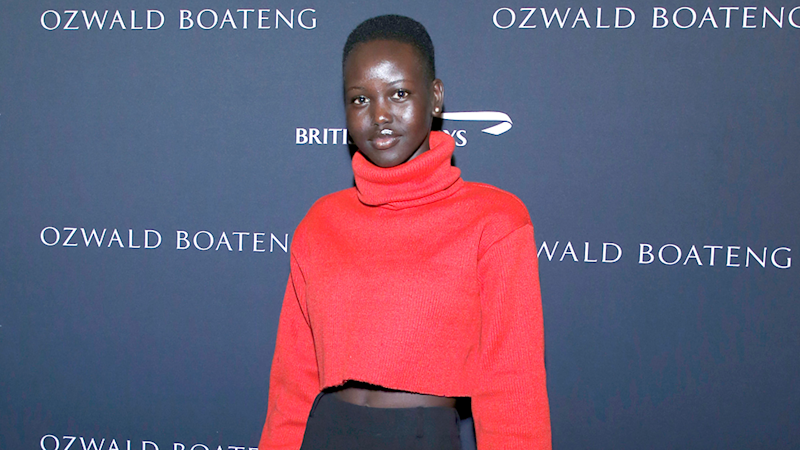 Sudanese-Australian model Adut Akech. Photo: Getty