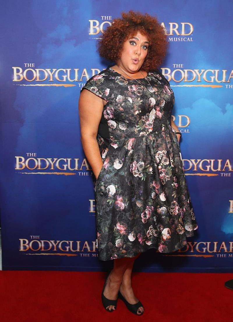 Casey Donovan arrives ahead of opening night of The Bodyguard The Musical at Lyric Theatre, Star City on April 27, 2017 in Sydney, Australia. Source: Getty