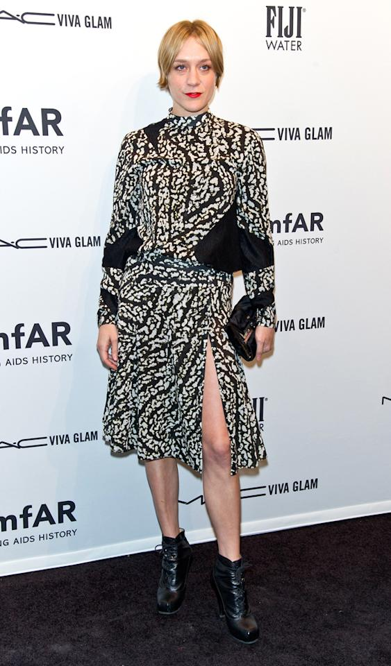 NEW YORK, NY - FEBRUARY 06:  Actress Chloe Sevigny attends amfAR New York Gala To Kick Off Fall 2013 Fashion Week at Cipriani, Wall Street on February 6, 2013 in New York City.  (Photo by Gilbert Carrasquillo/FilmMagic)