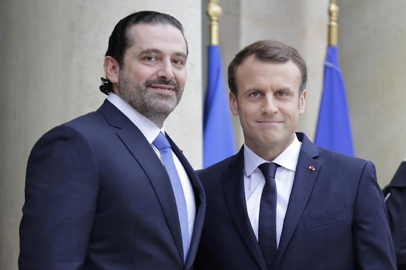 Lebanese PM Meets with Macron in Paris after Mystery Resignation and Stay in Saudi Arabia (yahoo.com)