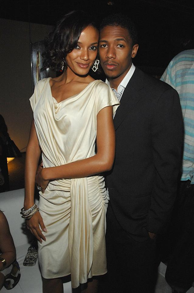 """Drumline's"" Nick Cannon went all out when he proposed to Victoria's Secret model Selita Ebanks in May 2007 with the help of the MTV jumbotron in New York's Time Square. Five months later, the attractive pair called off the engagement to focus on their careers. Dimitrios Kambouris/<a href=""http://www.wireimage.com"" target=""new"">WireImage.com</a> - September 5, 2007"