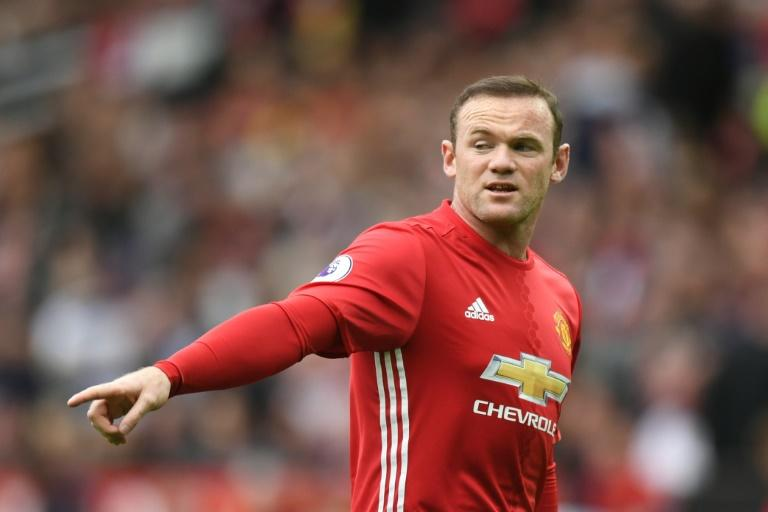 Manchester United's Wayne Rooney was on the bench for the weekend game with Premier League champions Leicester City on September 24, 2016