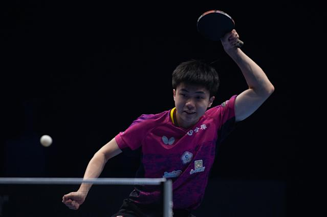 Lin Yun-Ju. (Photo by Allsport Co./Getty Images)