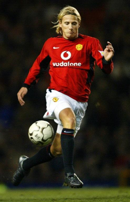 Diego Forlan scored 10 goals in his 63 appearances for Manchester United