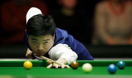 Snooker - Dafabet Masters - Alexandra Palace - 10/1/16 Ding Junhui in action during the first round Mandatory Credit: Action Images / Peter Cziborra Livepic