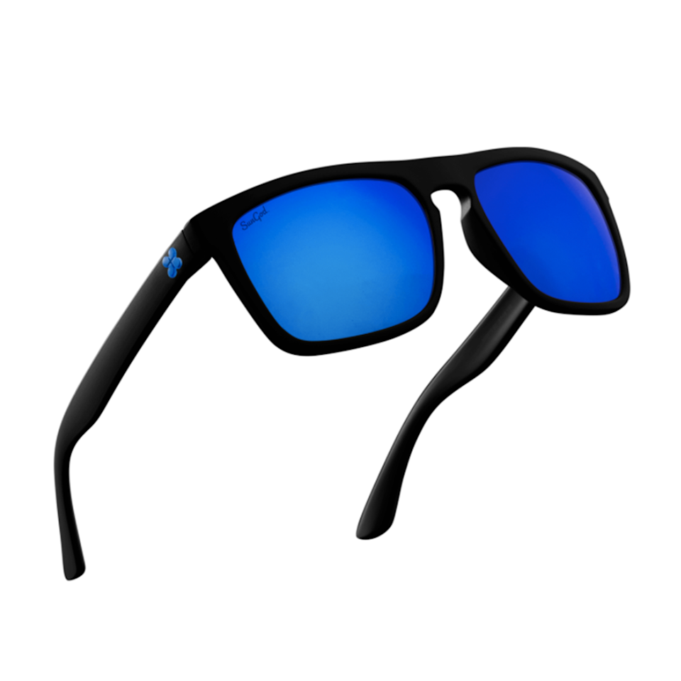 """<p><strong>How much</strong><strong>?</strong> £70 </p><p>With a classic, universally flattering silhouette and this brand's trademark 4K Optics polarised lenses, these are entry-level sports sunglasses that punch above their price tag. With three-layer scratch resistance on the lenses, you can wear them for all your sporting adventures and know that you're getting 100% UV protection and all-day comfort. It gets better still – every part of the SunGod Renegades is customisable, so you can tailor-make a pair that perform and look exactly how you want. </p><p><strong>Sport:</strong> All</p><p><a class=""""body-btn-link"""" href=""""https://www.sungod.co/shop/sunglasses/renegades?id=renegades-rgf_Mblack-rgle_Pblue-rgi_Bblue"""" target=""""_blank"""">SHOP NOW</a> </p><p><strong>RELATED: </strong><a href=""""https://www.womenshealthmag.com/uk/gym-wear/g32168042/best-workout-shorts/"""" target=""""_blank"""">14 Best Workout Shorts and Gym Shorts to Shop Now From £14</a><strong></strong></p>"""