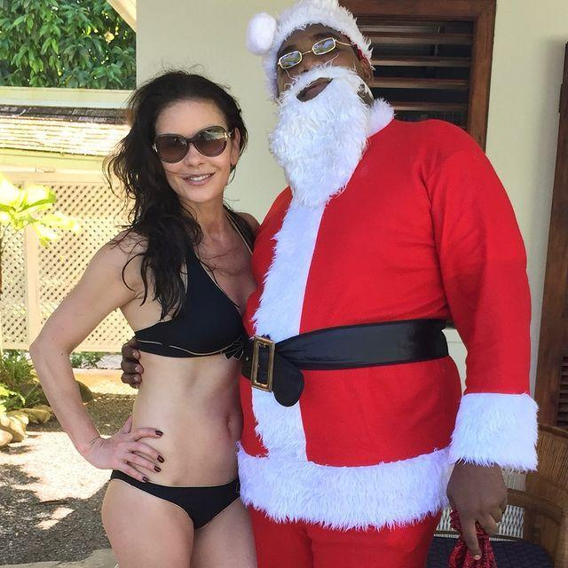 """<p>""""Last year in Bermuda I was caught shamelessly kissing Santa Claus in my bikini, 😂 totally bummed that this year he didn't show up. I was ready, masked and waiting. Oh well, maybe next year.""""</p><p><a href=""""https://www.instagram.com/p/CJPZlrMrgpj/"""" rel=""""nofollow noopener"""" target=""""_blank"""" data-ylk=""""slk:See the original post on Instagram"""" class=""""link rapid-noclick-resp"""">See the original post on Instagram</a></p>"""