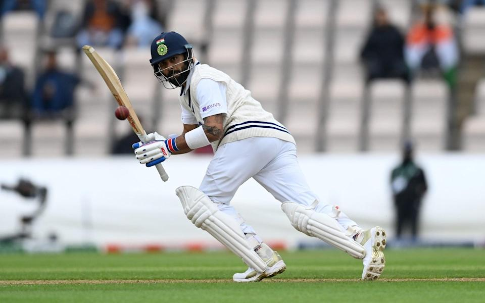 India withstand New Zealand pace attack as rain disrupts World Test Championship final again - GETTY IMAGES
